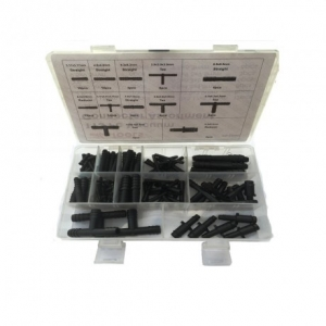 Slangconnectors assortiment 113 delig
